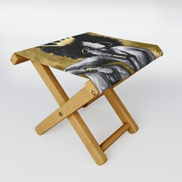 Naturally Queen VI GOLD Folding Stool