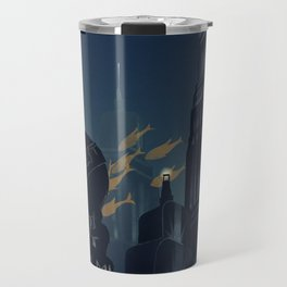 No Gods, No Kings, Only Man Travel Mug
