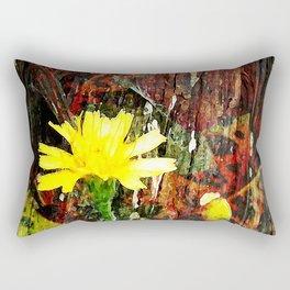Sunshine in Bloom Rectangular Pillow