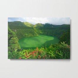 Lake in Azores Metal Print