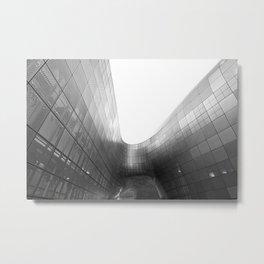 Dongdaemun Design Plaza by Zaha Hadid architect | Seoul | III Metal Print
