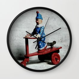 I`m on my Weh to San Jose II Wall Clock