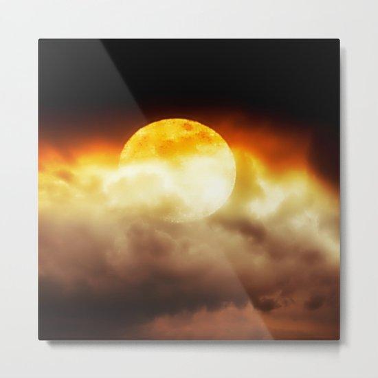 Moon blast Metal Print