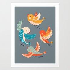 birds 4 Art Print