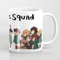 snk Mugs featuring SNK-Special ops. squad by Mimiblargh