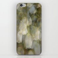 cassandra jean iPhone & iPod Skins featuring Jean by Falling Leaves and Feathers