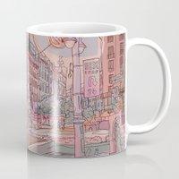 budapest Mugs featuring Astoria-Budapest by Zsolt Vidak