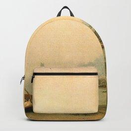 Martin Johnson Heade - The Stranded Boat Backpack