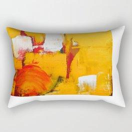 Sun on Fire - Landscape Rectangular Pillow