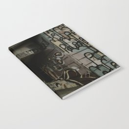 graffiti house Notebook