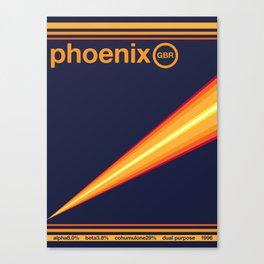 phoenix single hop Canvas Print