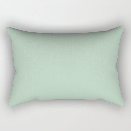 Simply Pastel Cactus Green Rectangular Pillow