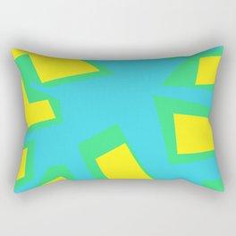 Tree Blue - Coral Series 003 Rectangular Pillow