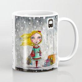 Coffee Gratitude by Kylie Fowler Coffee Mug