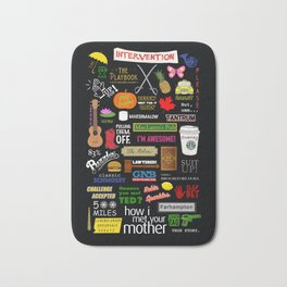 How I Met Your Mother | HIMYM | Barney Stinson | Tv show Bath Mat
