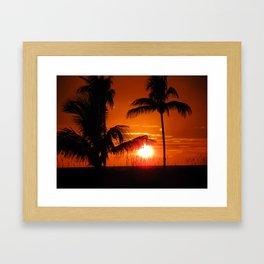 Beautiful Sunset II Framed Art Print