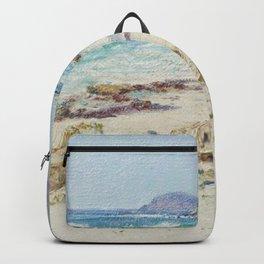 D Howard Hitchcock - Makapuu Point from Waimanalo Beach Backpack