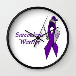 Sarcoidosis Warrior Wall Clock