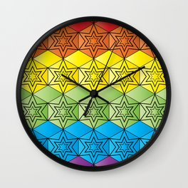 Spectral Gathering Wall Clock