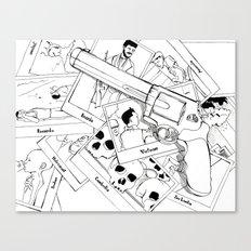 Murderous humanity Canvas Print