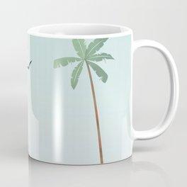 Miami Beach florida travel poster Coffee Mug