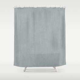 Smooth Concrete Shower Curtain