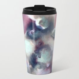 Organic Abstract 2 Metal Travel Mug