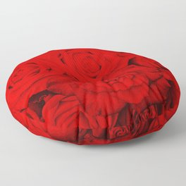 Some people grumble- Floral Red Rose Roses Flowers Floor Pillow