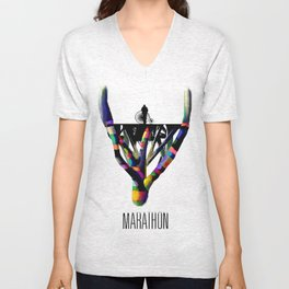 Self-Titled Cover Art Full Color Unisex V-Neck
