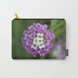 alyssum flower bloom Carry-All Pouch