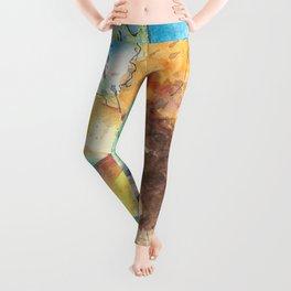 Happy Sunflower Leggings