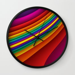 3D for duffle bags and more -12- Wall Clock