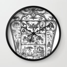 Cabinet of Obsession Wall Clock