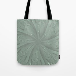 Lost in the Laurels Fractal Bloom Tote Bag
