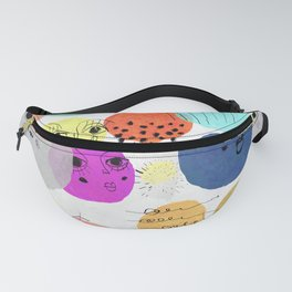 The Faces Fanny Pack