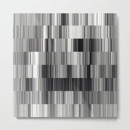 Computer Mess-up Metal Print