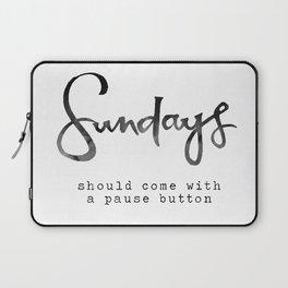 Sundays Laptop Sleeve