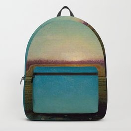 Twilight in the Florida Everglades by Martin Johnson Heade Backpack