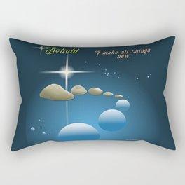 All Things New Rectangular Pillow