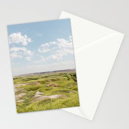 Badlands Prairie - Nature Landscape Photography Stationery Cards