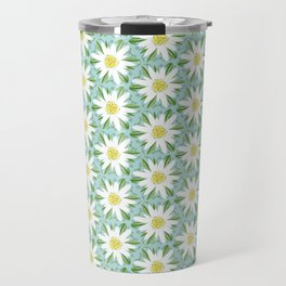 Edelweiss On Repeat Travel Mug