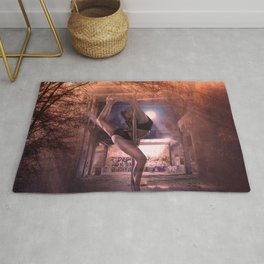 Unexplained lost space Rug