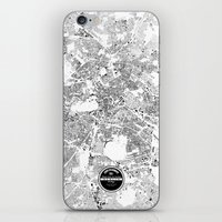 berlin iPhone & iPod Skins featuring BERLIN by Maps Factory