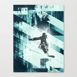 x-treme boarding Canvas Print