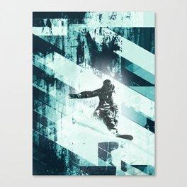 x-treme boarding Canvas Print