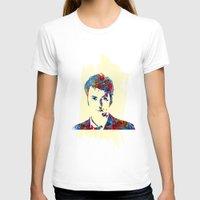 david tennant T-shirts featuring David Tennant - Doctor Who by lauramaahs