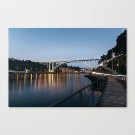 Arrabida bridge (II) Canvas Print