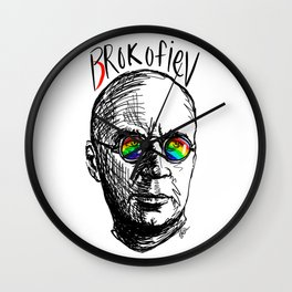 Brokofiev - Prokofiev Wall Clock