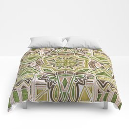 Earth Tapestry Comforters