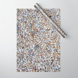 Beach Pebbles Wrapping Paper
